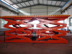 Low Price Hydraulic Stationary Scissor Lift pictures & photos