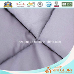 Solid Color Polyester Filled Duvet Down Alternative Quilt pictures & photos