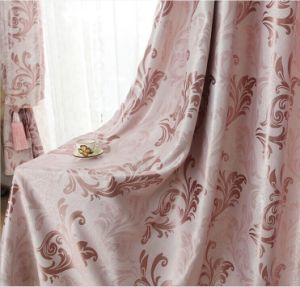 Double-Faced Jacquard Fabric Curtain Blackout Curtains (MM-120) pictures & photos