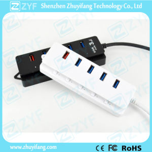 Fast Charging Function 5 Port USB Hub 3.0 (ZYF4114)