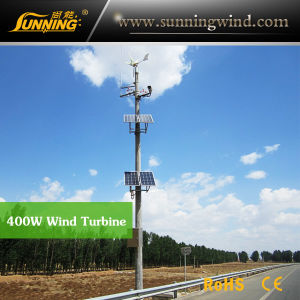 Support CE 400W Rooftop Small Wind Turbine Monitoring Use pictures & photos