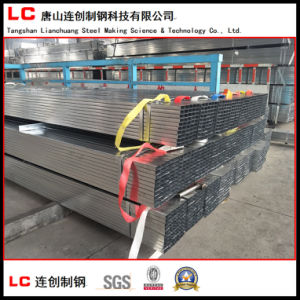 Pre-Galvanized Steel Square Pipe with 120G/M2 Zinc Coating pictures & photos