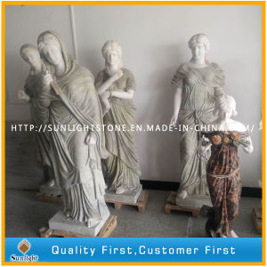 Natural Granite/Marble Carved Stone Figure/Animal Sculpture for Garden/Outdoor Decoration pictures & photos