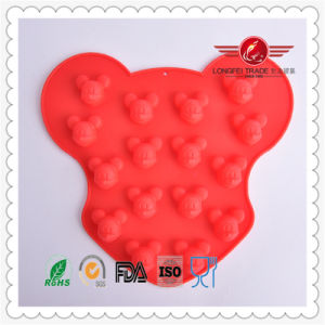 2015 High Grade Silicone Mickey Cake Mould pictures & photos