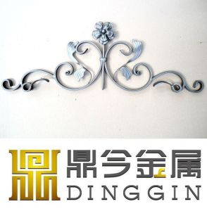 Wrought Iron Ornaments Fence Ornaments pictures & photos