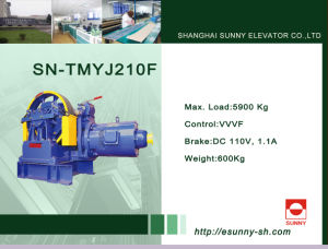 Gear Traction Machine for Elevator (SN-TMYJ210F) pictures & photos