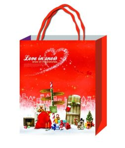 Paper /PP Gift/Shopping Bag Thanks Giving for Mother′s Day