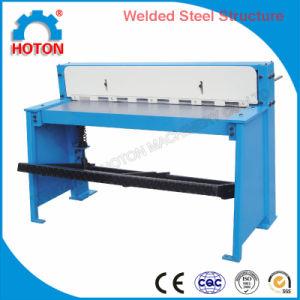 Sheet Metal Foot Shearing Machine (Pedal Shears Q01-1.0X1000 Q01-1.5X1320 Q01-2X1000 ) pictures & photos