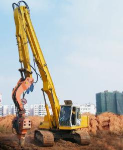 Excavator Pile Driving Boom and Arm 60′ for Komatsu (PC300LC-7/8)