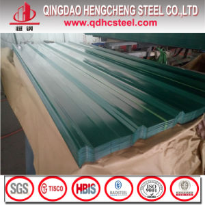 22 Gauge PPGI Color Coated Galvanized Corrugated Steel Roofing Sheet pictures & photos