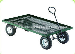 Four Wheels Garden Use Toolcart (Tc1807) pictures & photos