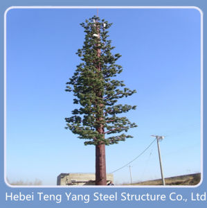 Steel Tube Camouflaged Telecommunication Tower pictures & photos