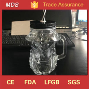 Unique Hot Sale 15oz Buy Bulk Mason Jars Mugs with Handle pictures & photos