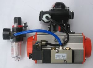 Whole Set Pneumatic Actuator with Limit Switch, Frl, Solenoid Valve etc. pictures & photos