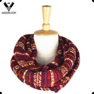 2016 New Fashion Multicolor Jacquard Pattern Designer Scarf pictures & photos