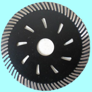 Diamond Turbo Saw Blade with Narrow Teeth