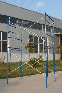 High Quality5′*6′4′′ Walk Thru Frames Scaffolding for Sale pictures & photos
