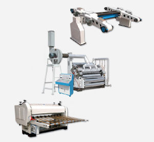 2-Layers Corrugated Paper Cardboard Production Line Price Sale pictures & photos