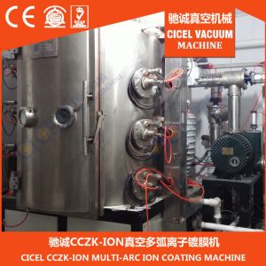 Cicel Stainless Steel, Stainless Steel, Glass, Metal, Ceramic, Crystal Multi Arc Ion PVD Coating Machine pictures & photos