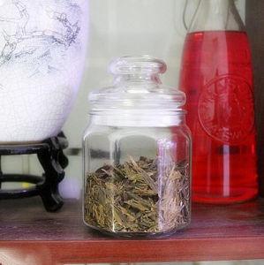500ml Creative Glass Candy Jar Sealed Octagon Glass Coffee Sugar Tea Jar pictures & photos