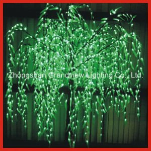 Green Willow LED Tree Light for Street Garden Park Decoration with CE RoHS pictures & photos