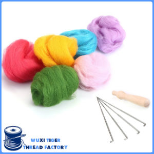 Wool Yarn Roving for Needle Felting Hand Spinning