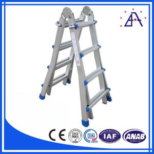 Best Selling Anodized White Aluminum Ladder pictures & photos
