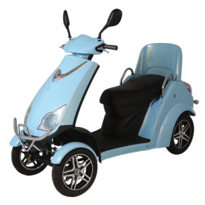 Zvgreen Hot Sale High Quality Electric Scooter with Four Wheel pictures & photos