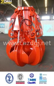 Electric Hydraulic Orange-Peel Grabs Garbage Grab Made in China pictures & photos