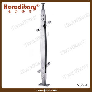 Customed Design Laminated Glass 304 Stainless Steel Balcony Baluster (SJ-604) pictures & photos