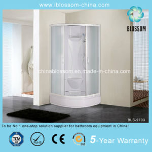 High Quality 4mm Matt Glass Complete Shower Room/Cabin/Cubicle (BLS-9703) pictures & photos