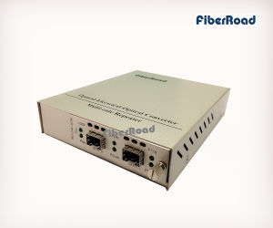 10g Oeo Converter (3R Repeater) with SFP+ to SFP+ Slots Standalone Media Converter Card Kit