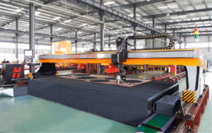 CNC Plasma Cutting and Drilling Machine pictures & photos