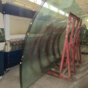 Flat Tempered Toughened Curved Glass pictures & photos