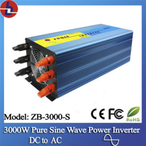 3000W 24V DC To110/220V AC Pure Sine Wave Power Inverter