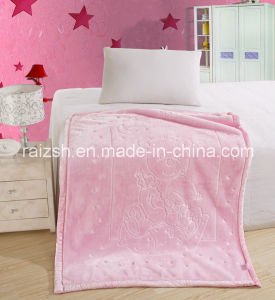 Baby Blankets Child Blanket Solid Color 3D Embossed