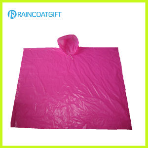 Cheap Clear PE Rain Poncho Capes pictures & photos