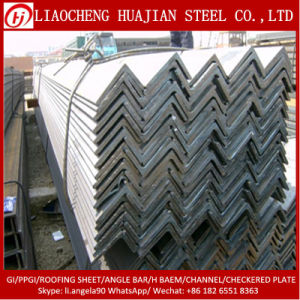Galvanized Ms Angle Bars with Zinc Coating pictures & photos