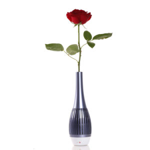 LED Light Flower Vase Bluetooth Speakers for Computers and Mobile Phones