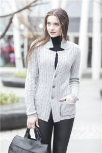 Women Fashion 100% Cashmere Sweater (1500002008) pictures & photos