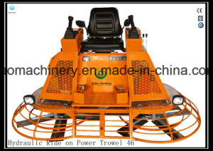 Kohler Engine High Horsepower Hydraulic Concrete Machinery Ride on Power Trowel Gyp-1046 pictures & photos