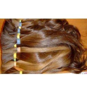 100% Natural European Virgin Remy Human Hair Bulk pictures & photos