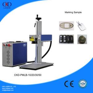Fiber Laser Marking Machine for Ring Plastis PVC pictures & photos