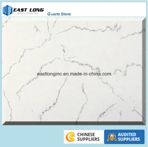 Artificial Marble Quartz Stone Slab for Countertop pictures & photos