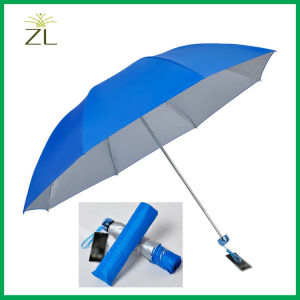 Polyester 190t Waterproof Silver Coated Umbrella Fabric pictures & photos