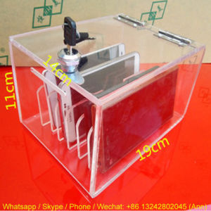 6 Holes Acrylic Mobile Phone Storage Box pictures & photos