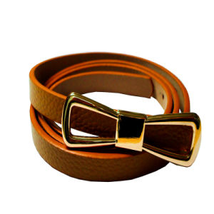 2016 New Design Fashion Leather Belt for Ladies Dress (HJ0211) pictures & photos