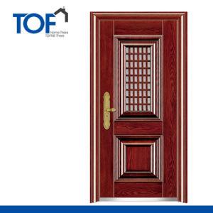 Decorated Exterior High Quality Security Steel Door