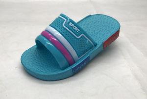 Childern′s PVC/Pcu/EVA Fashion Concise Sandals Slippers (21go1605) pictures & photos