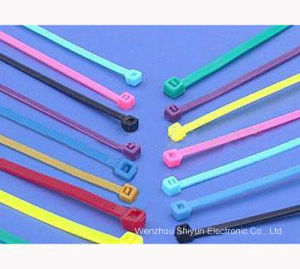 Self-Locking Cable Ties 400 X 4.8mm pictures & photos